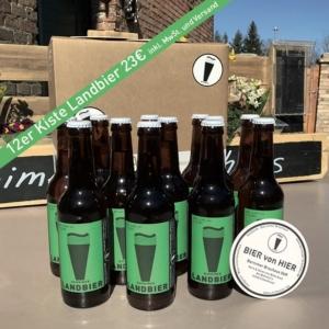 12er Kiste Landbier 0,33L für 23,00€ versandkostenfrei bestellen